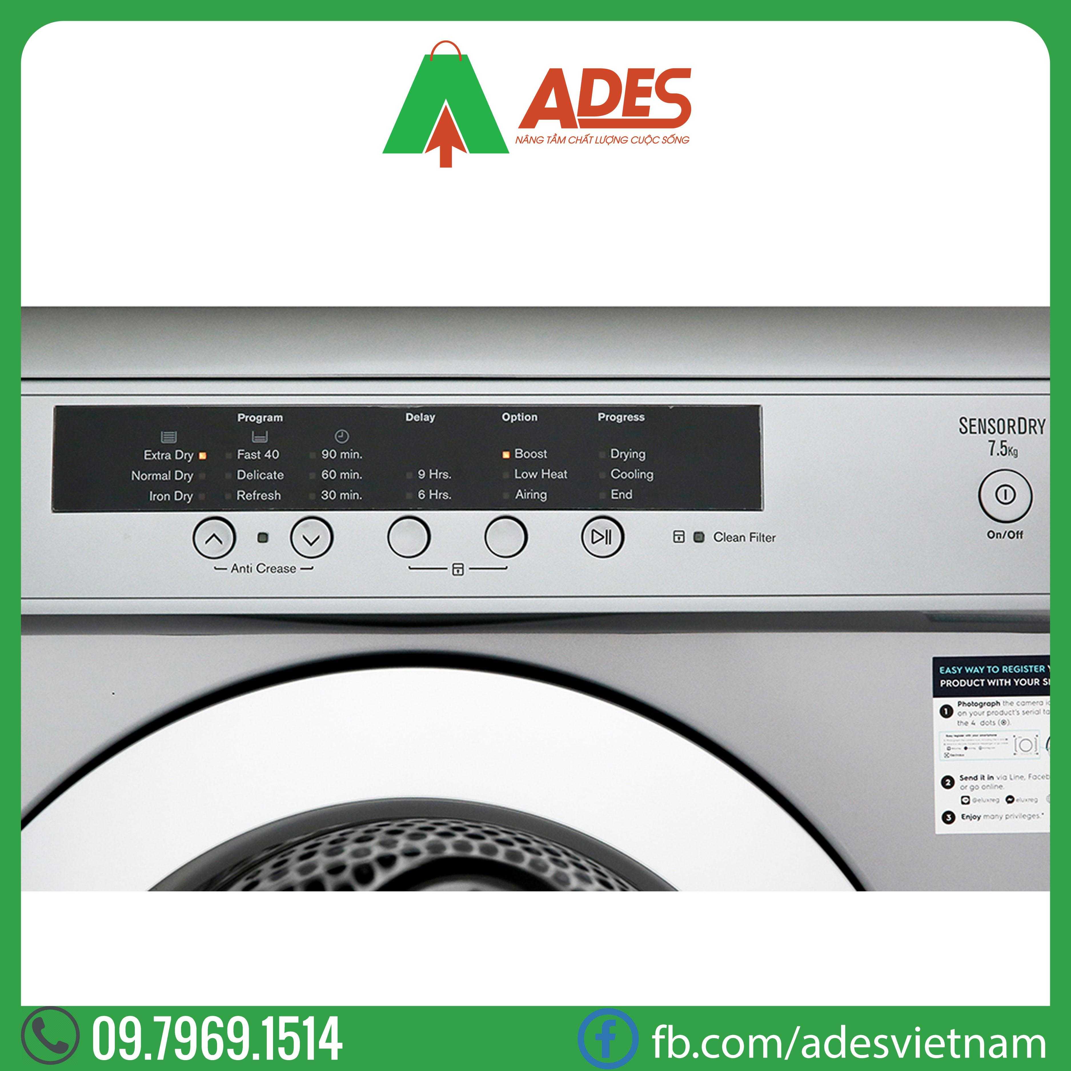 May say Electrolux EDV7552S