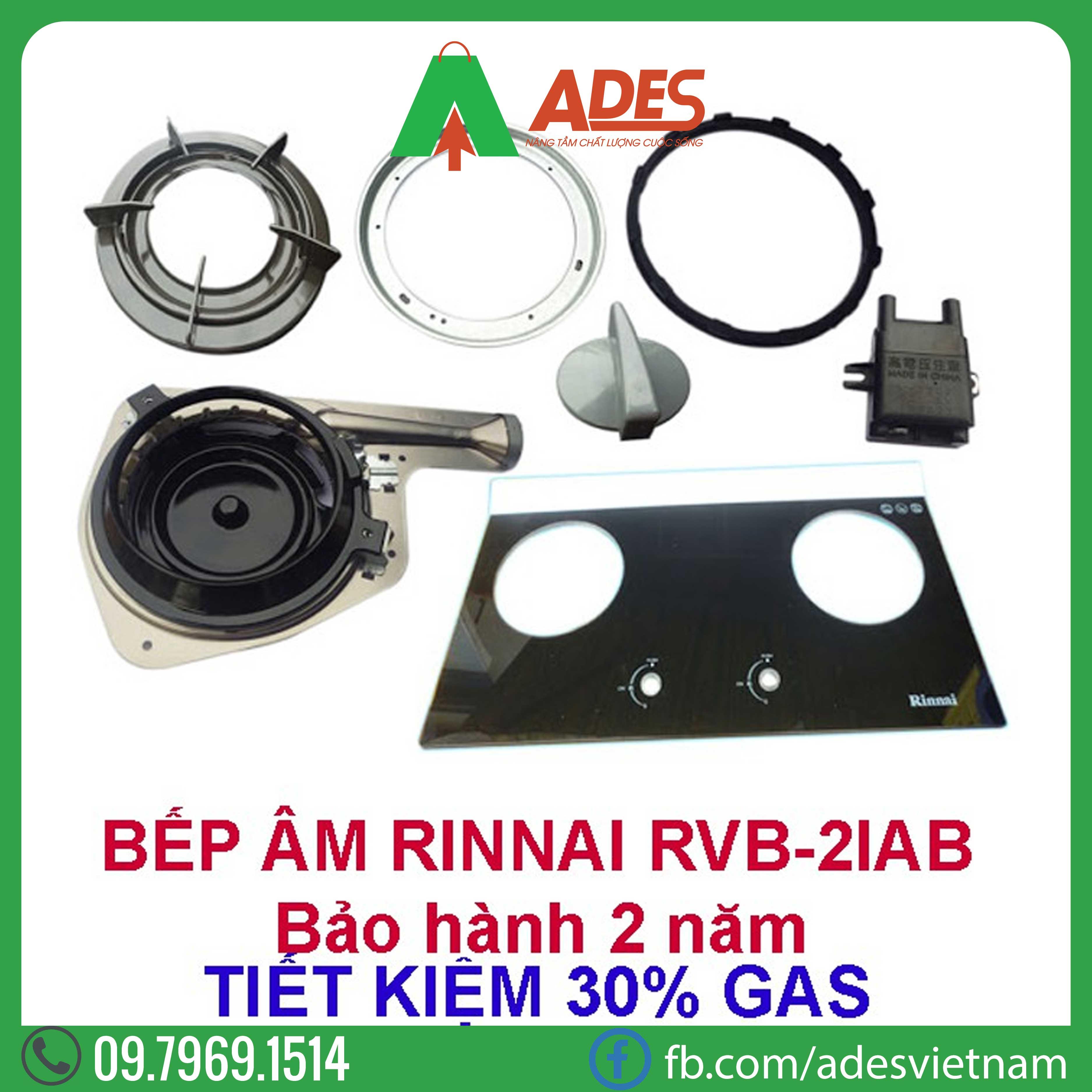 bep gas am Rinnai RVB-2i(AB)