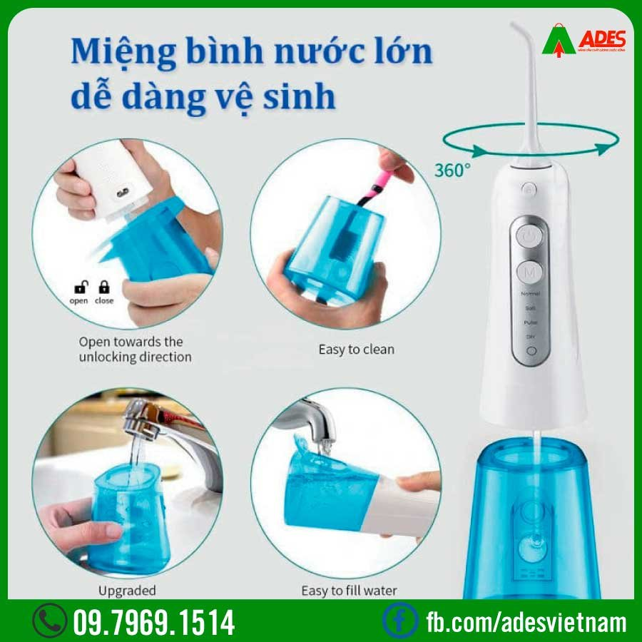 may tam nuoc water smile ws-136