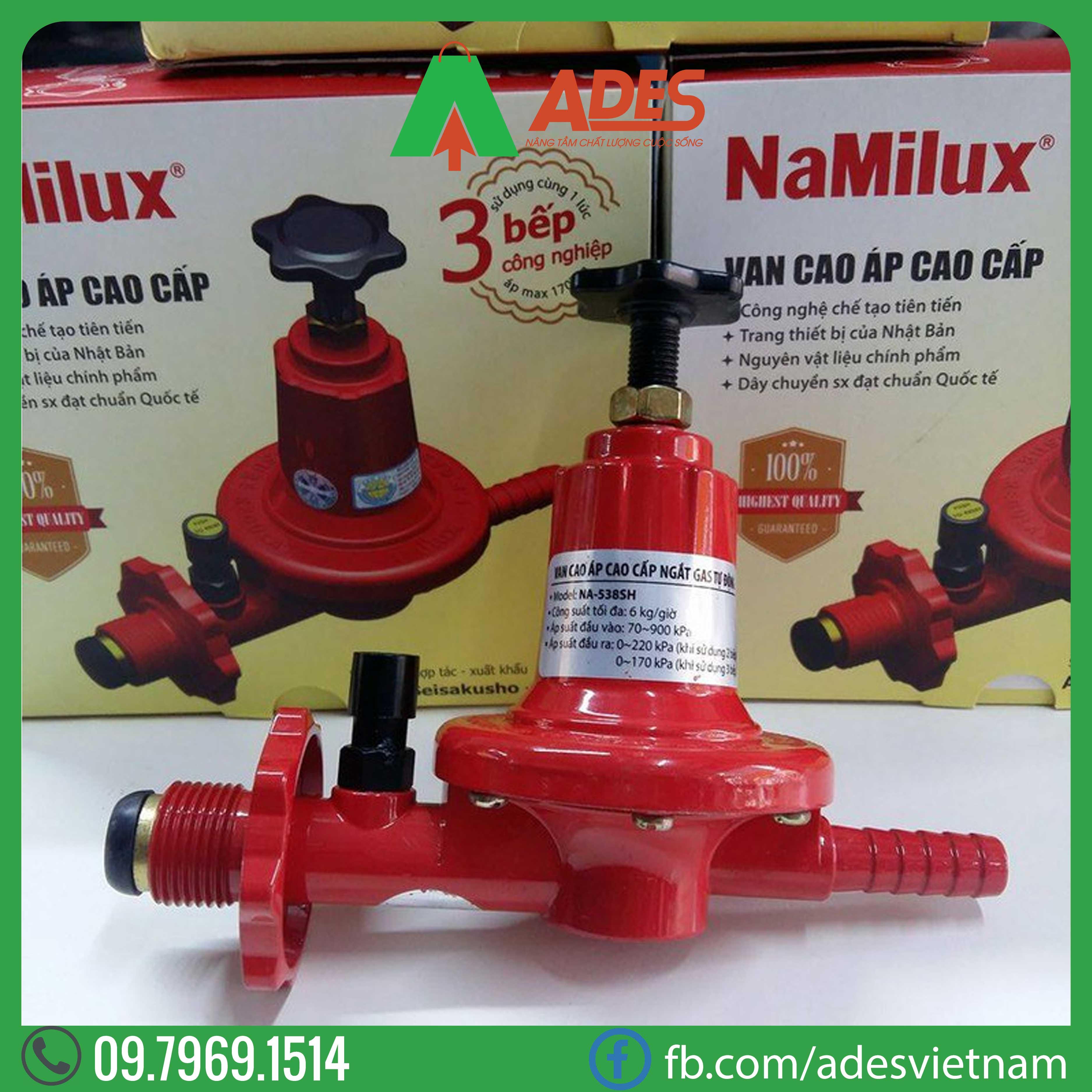 van cong nghiep Namilux NA-538SH