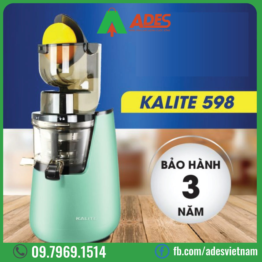 May ep trai cay Kalite KL-598
