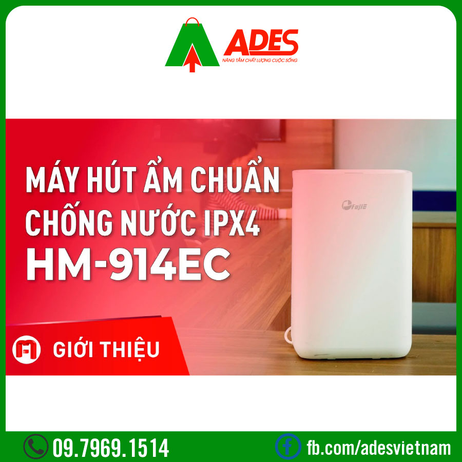 may hut am dan dung fujie hm-914ec