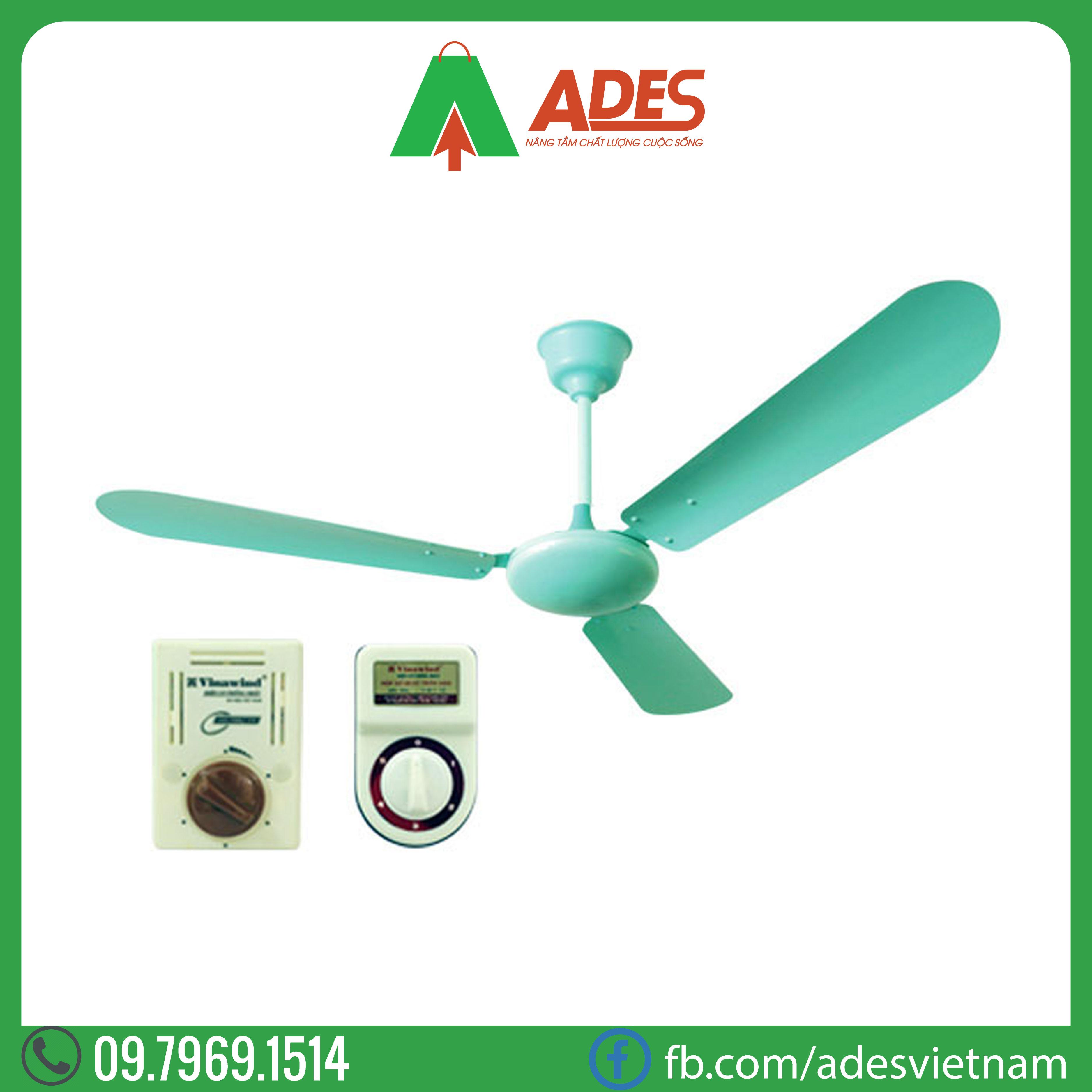 Quạt trần Vinawind 1400 QT1400-N | Dien may Ades