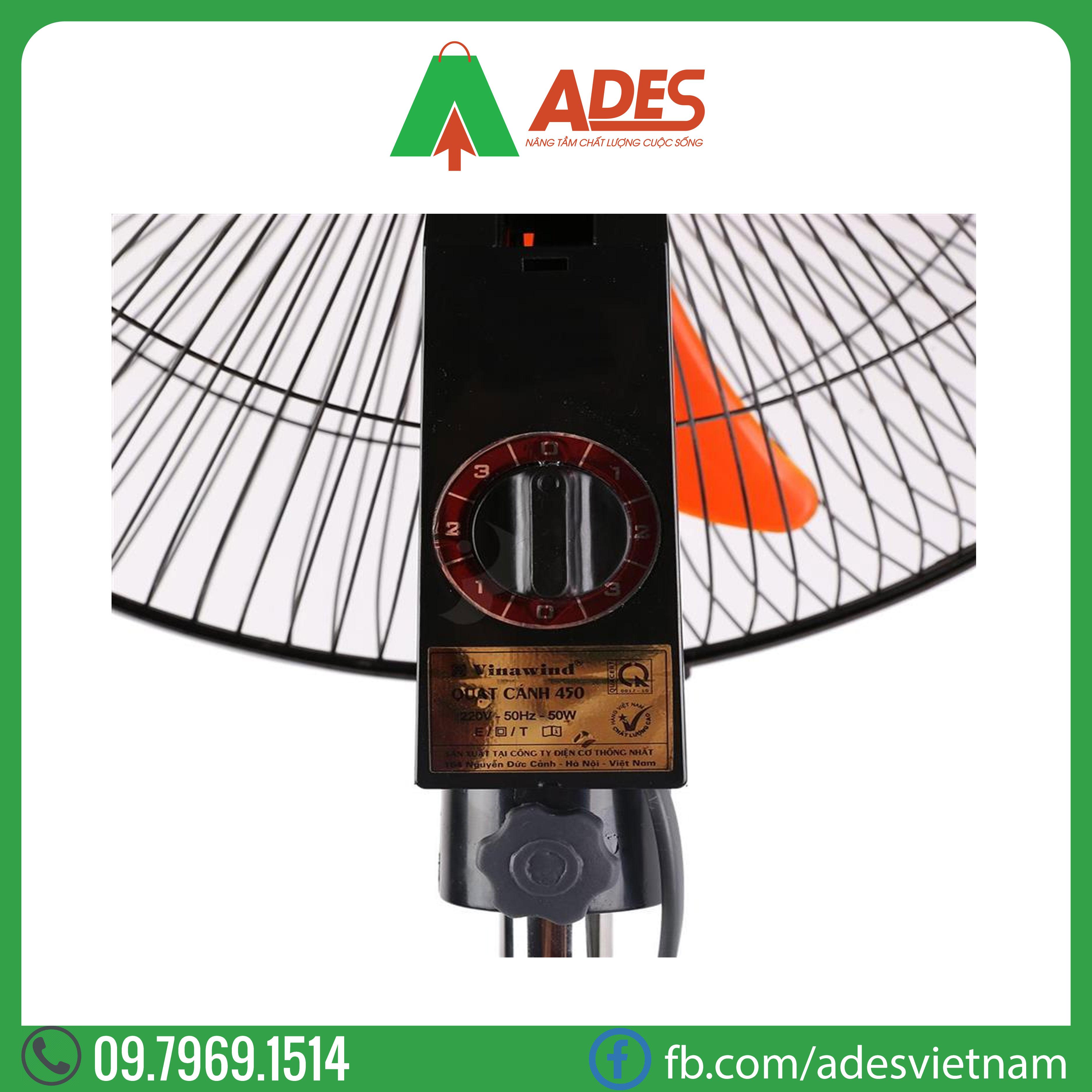 Quat dung vinawind QD450 DM | Chinh Hang, Gia Re