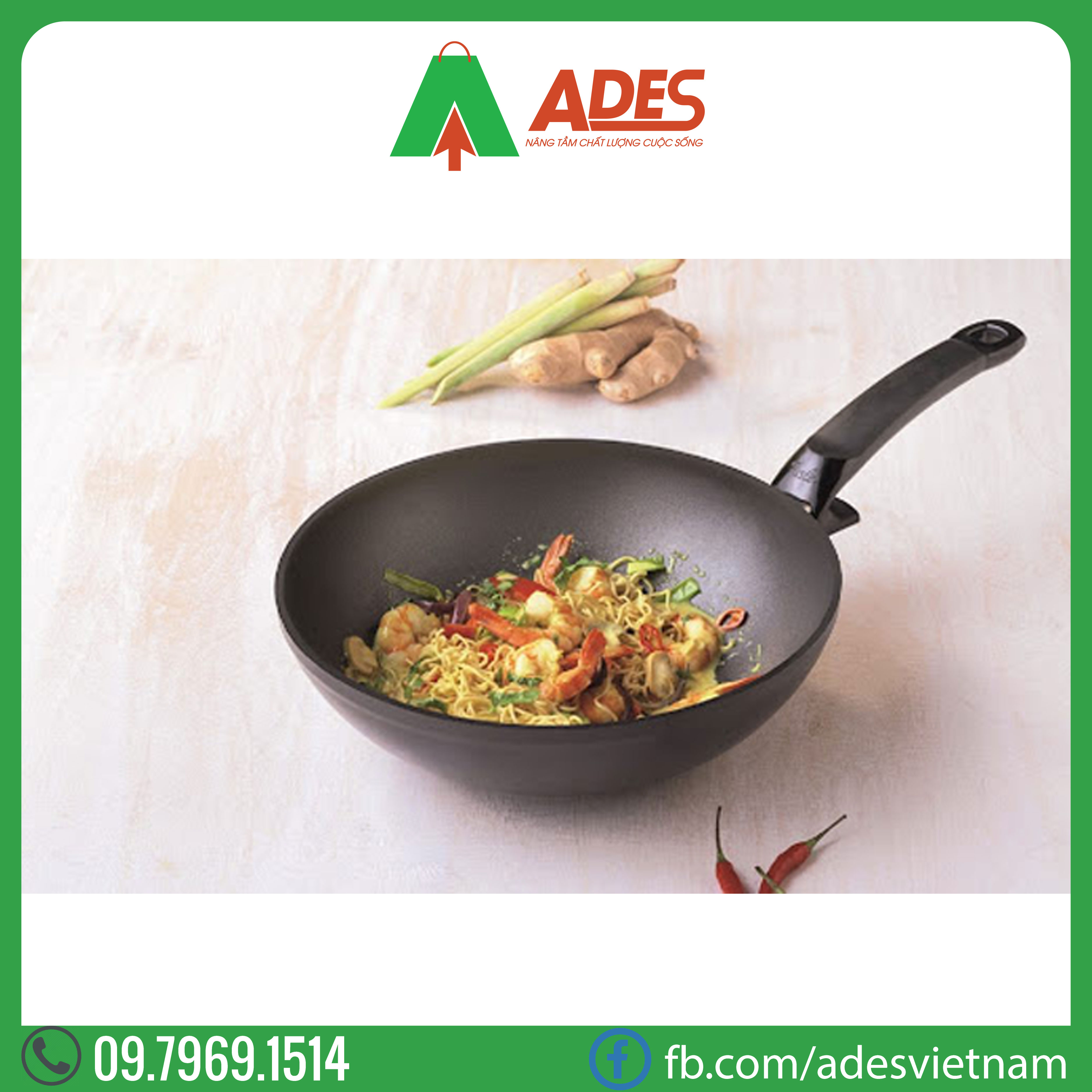 Chao day sau Fissler Special Asia 28cm | Dien may Ades