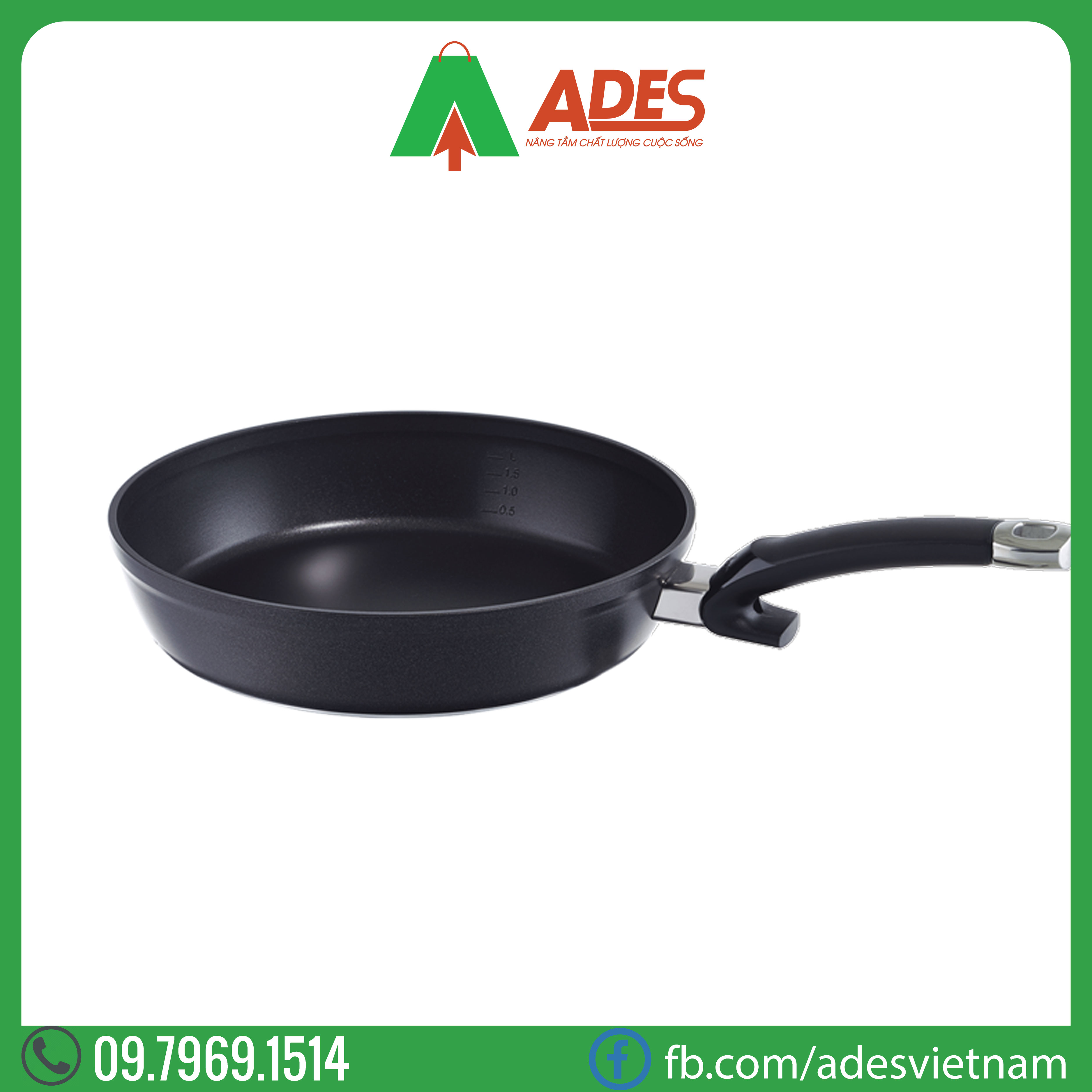 Chao Fissler Alux 24cm | Dien may Ades