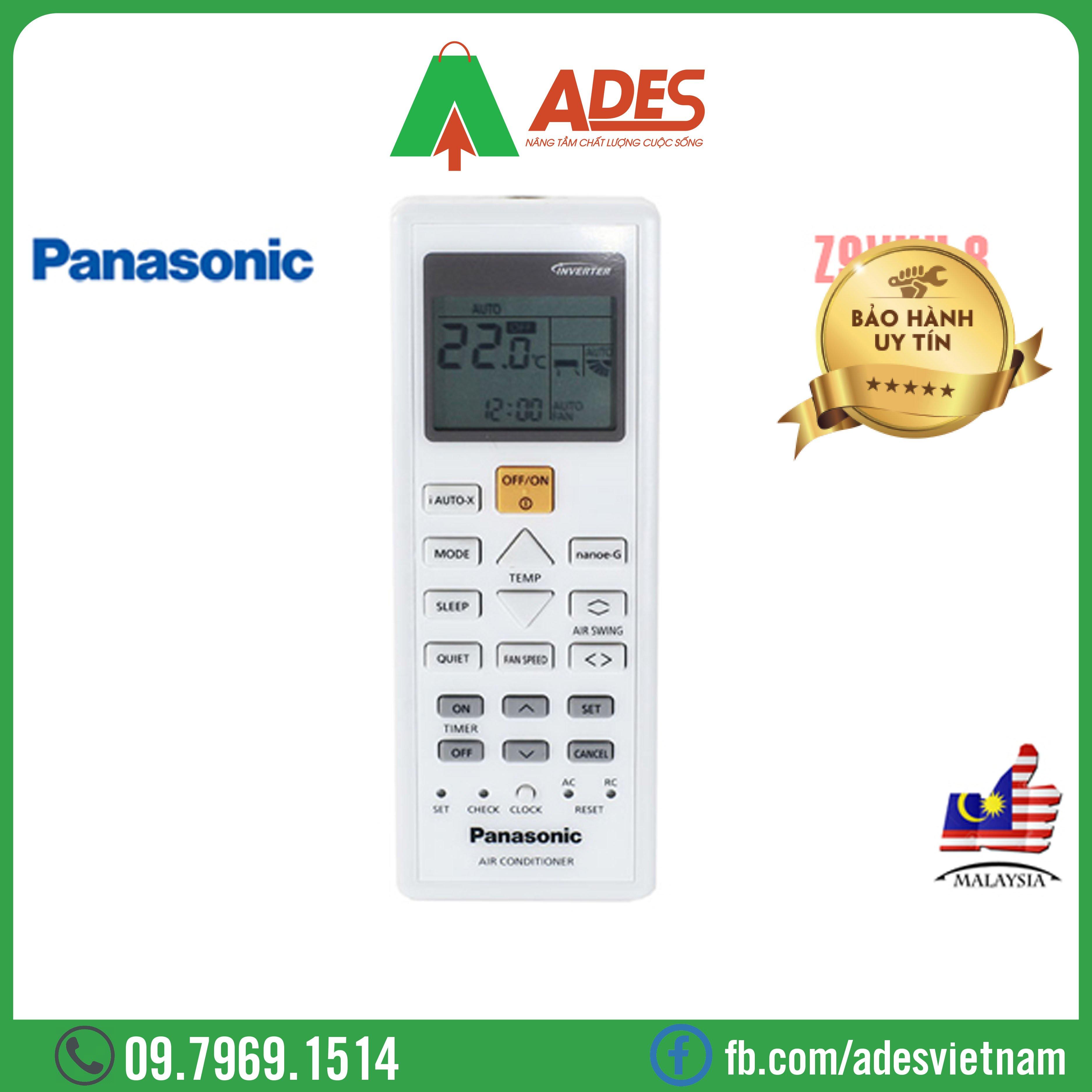 Dieu hoa Panasonic Inverter CU/CS-Z9VKH-8