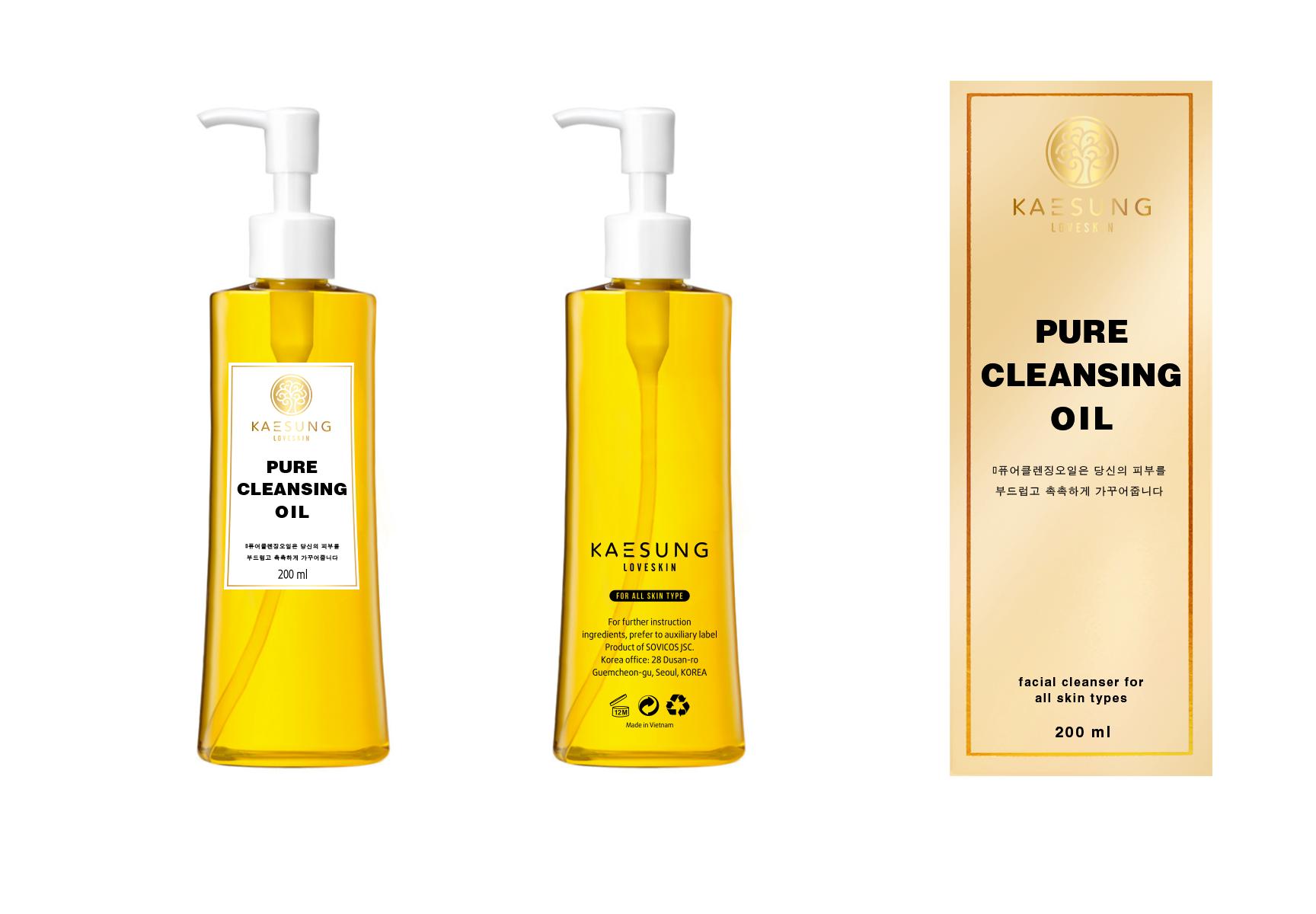 Dầu tẩy trang Kaesung Loveskin - Pure cleansing oil