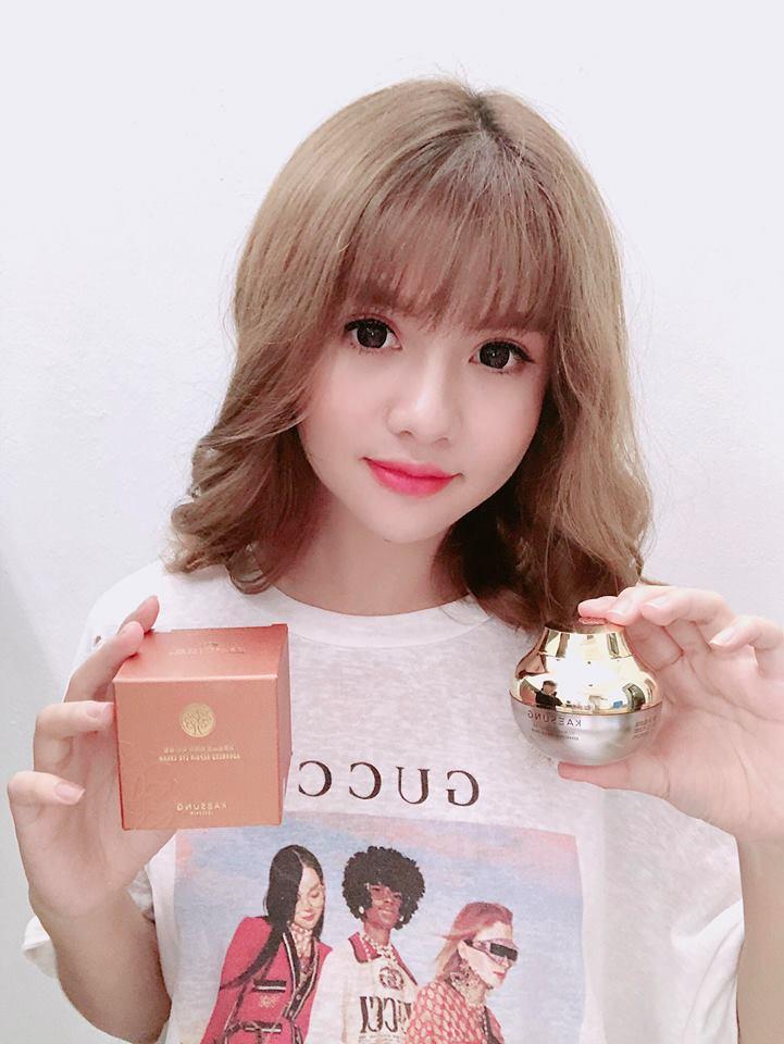 Hotgirl Khánh Huyền gửi fick back sau khi dùng sản phẩm