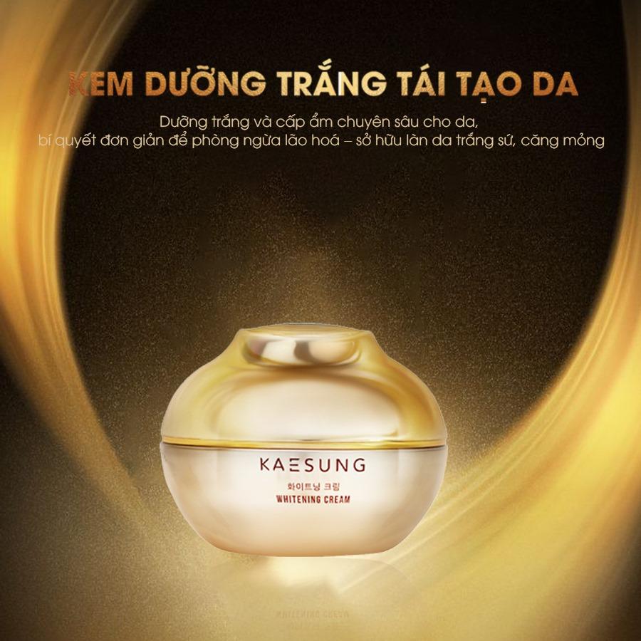 Kem dưỡng trắng tái tạo da Kaesung