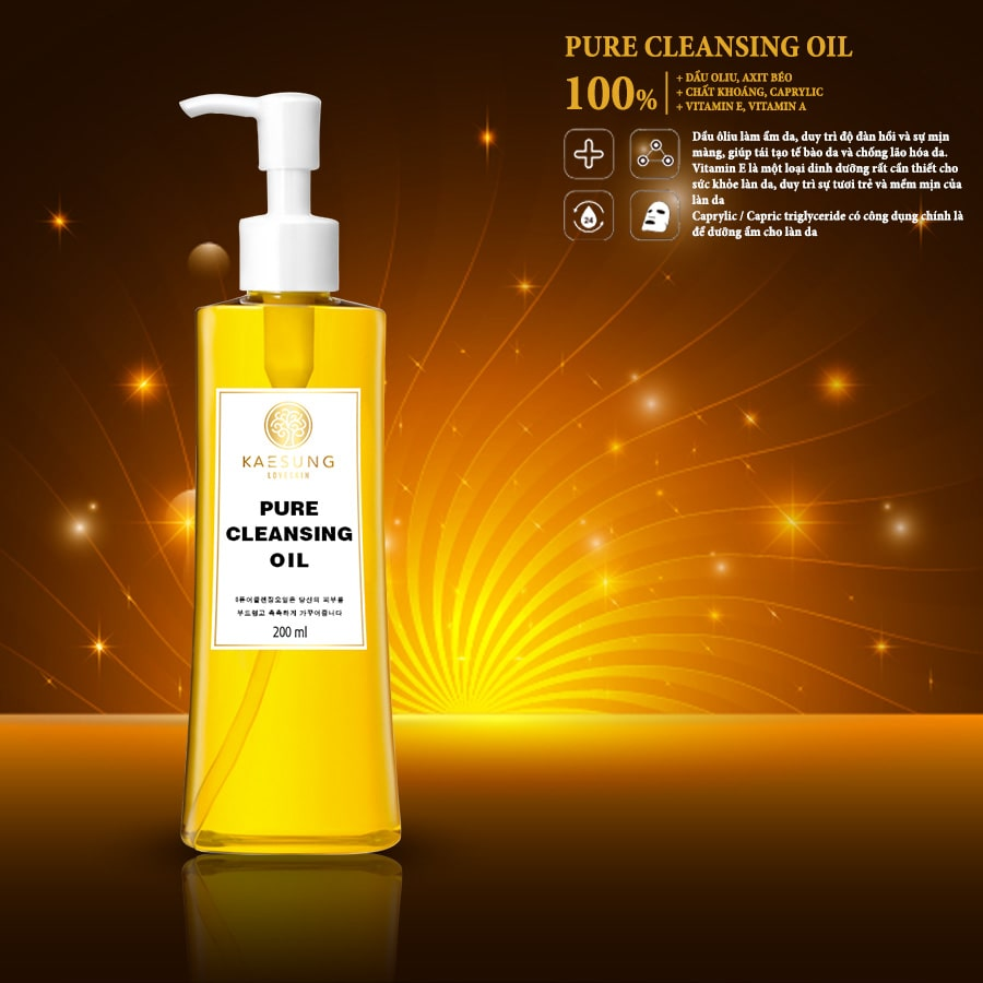 Dầu tẩy trang Pure Cleansing Oil