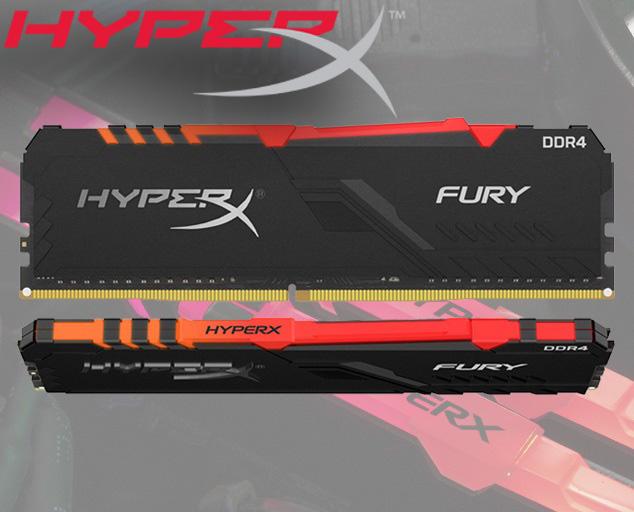 Ram Kingston HyperX FuryX RGB 16GB (2x8GB) bus 3200MHz DDR4