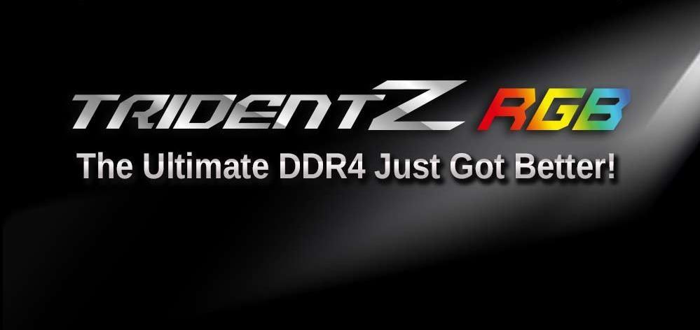 Trident Z Rgb Ddr4 Banner