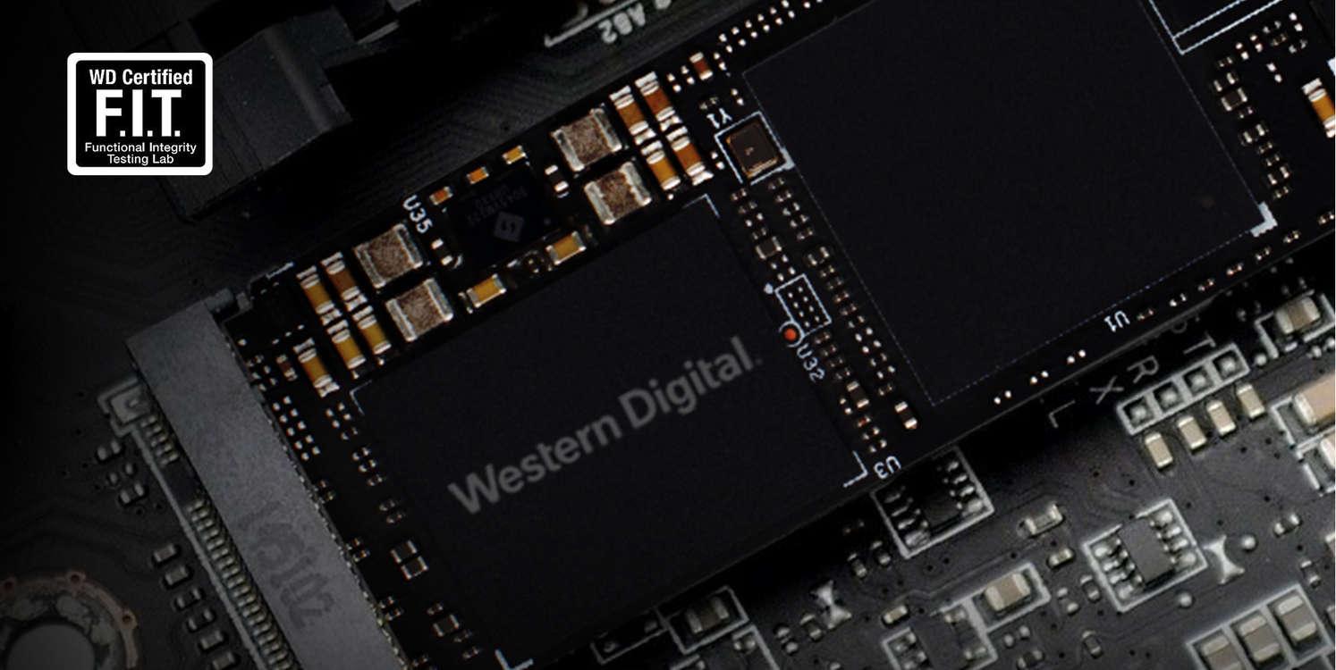 SSD M2 PCIe 2280 WD Black SN750 NVMe - 1TB