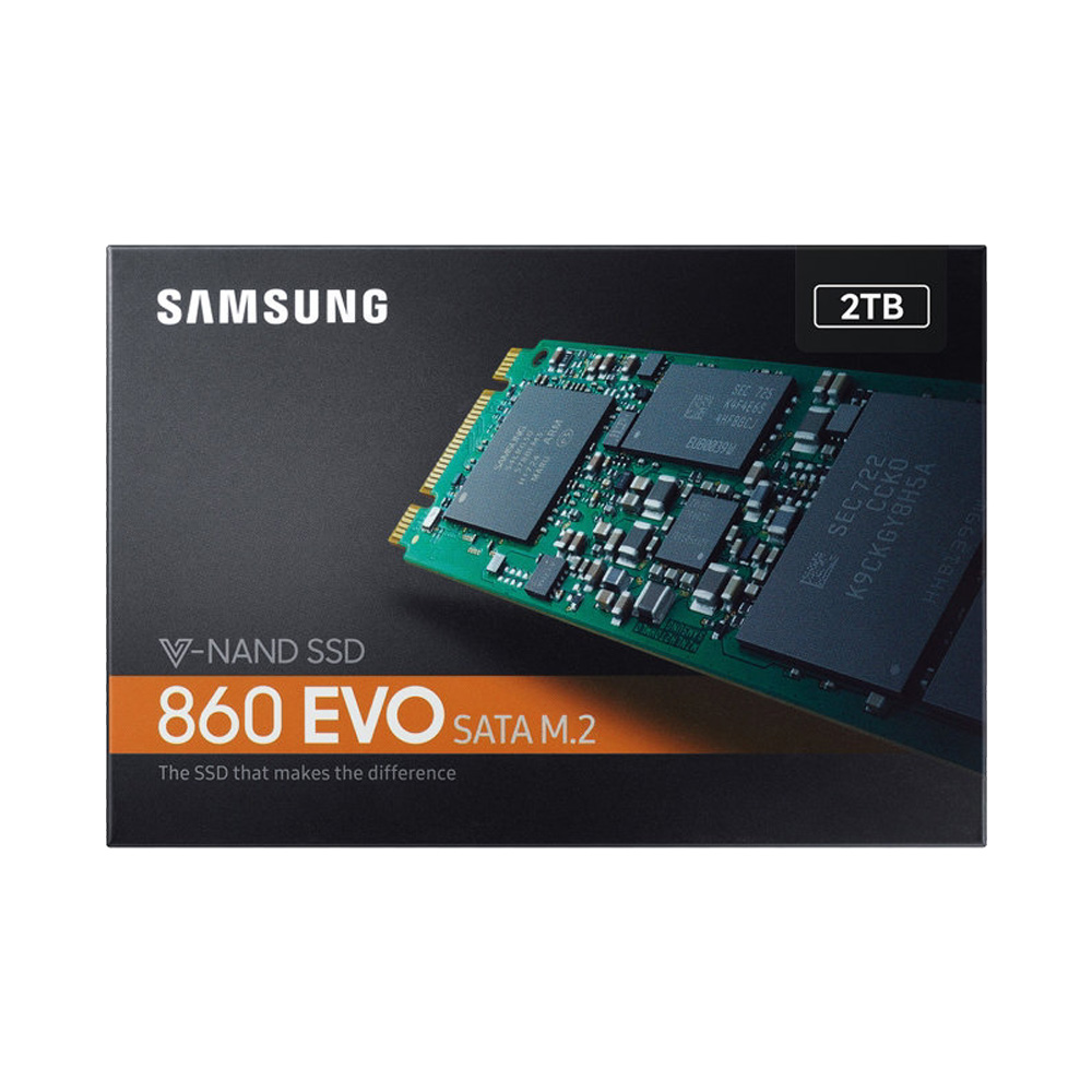 SSD Samsung 860 Evo 2TB M.2 2280 SATA III MZ-N6E2T0BW