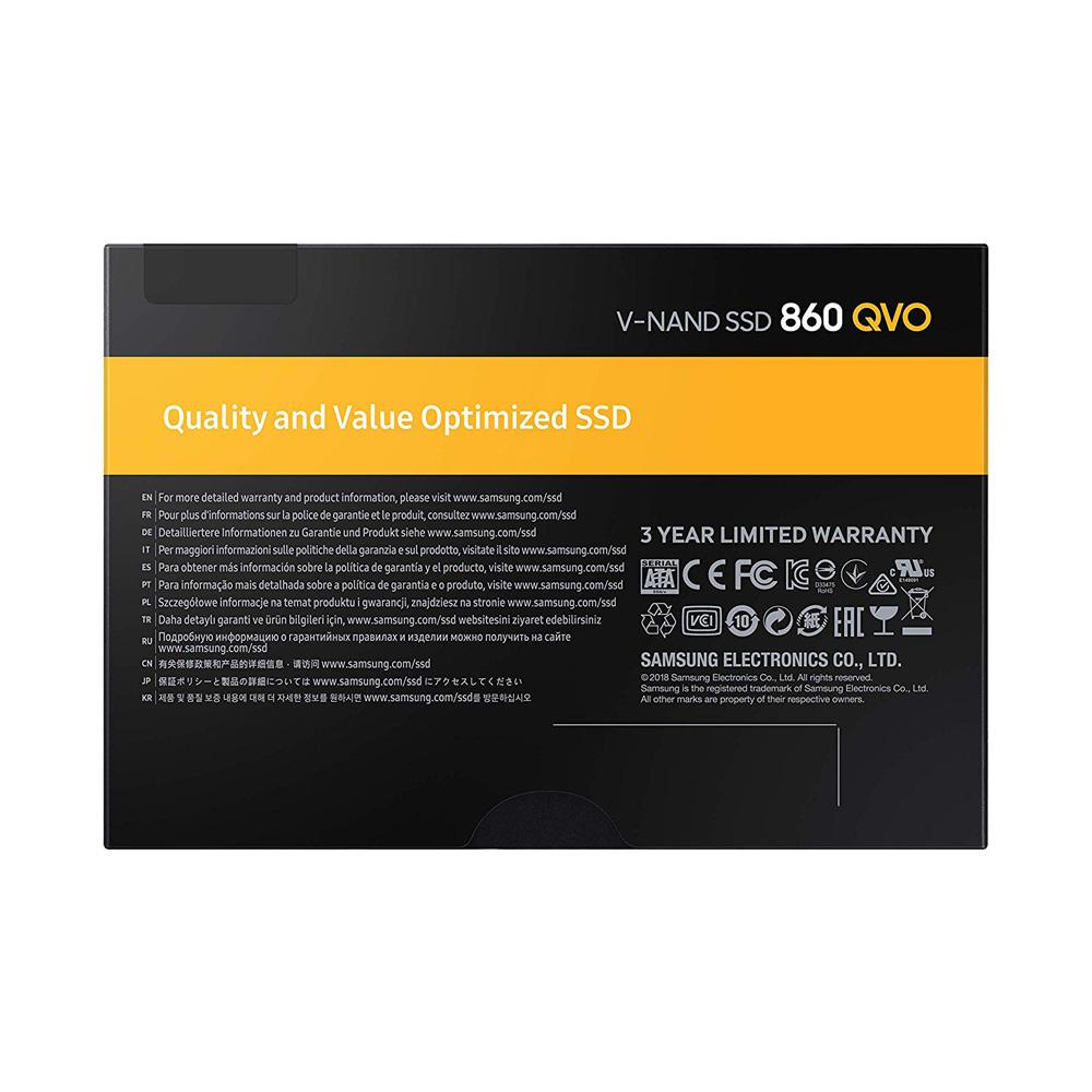 SSD Samsung 860 Qvo 2TB 2.5-Inch SATA III MZ-76Q2T0B