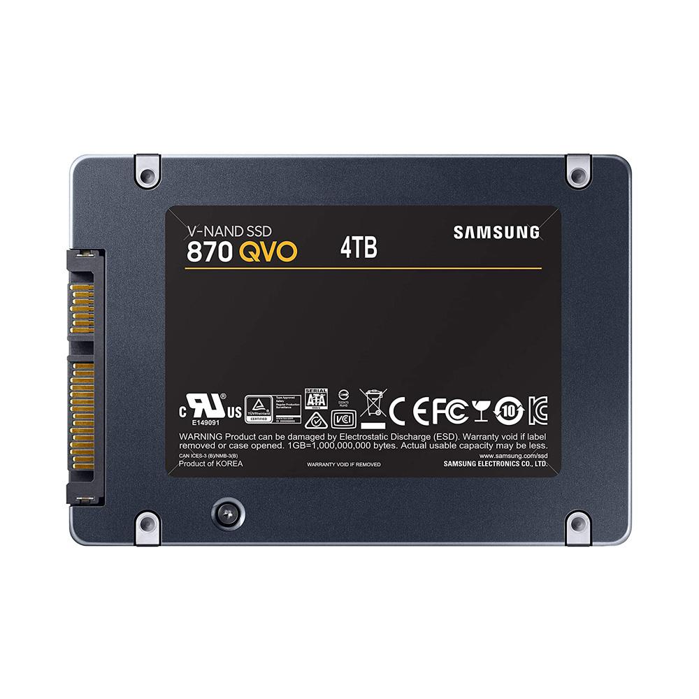 SSD Samsung 870 Qvo 4TB 2.5-Inch SATA III MZ-77Q4T0