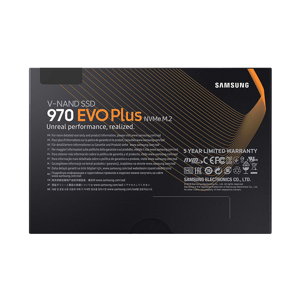 SSD Samsung 970 EVO Plus PCIe NVMe V-NAND M.2 2280 1TB MZ-V7S1T0BW
