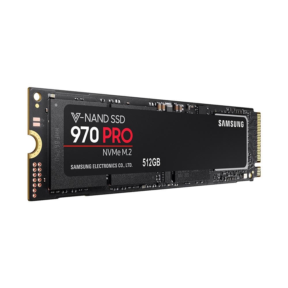 SSD Samsung 970 Pro PCIe NVMe V-NAND M.2 2280 512GB MZ-V7P512BW