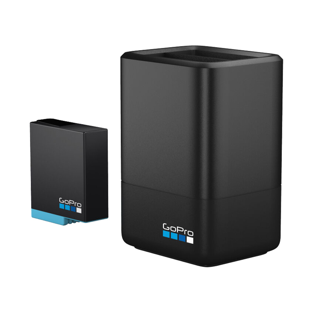Bộ Dock sạc Dual cho GoPro HERO 8/7/6/5 AJDBD-001-EU
