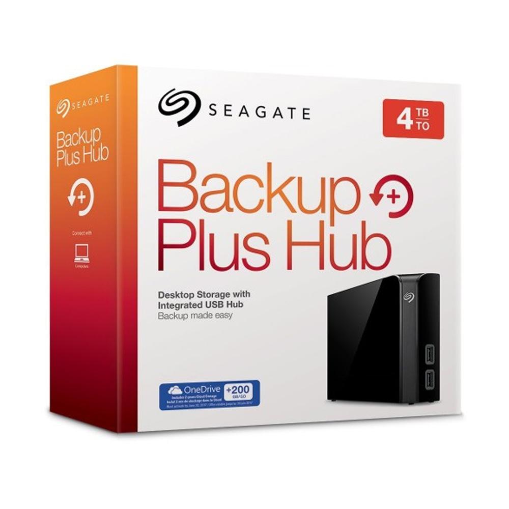 Ổ cứng để bàn HDD 4TB Seagate Backup Plus Hub Desktop 3.5inch STEL4000300