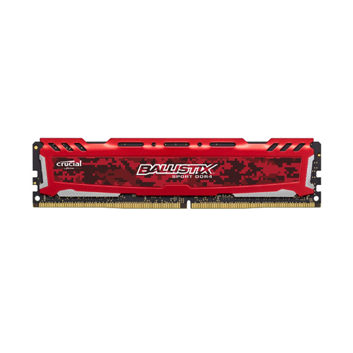 Ram PC Crucial Ballistix Sport LT 8GB Bus 2400 DDR4 CL16