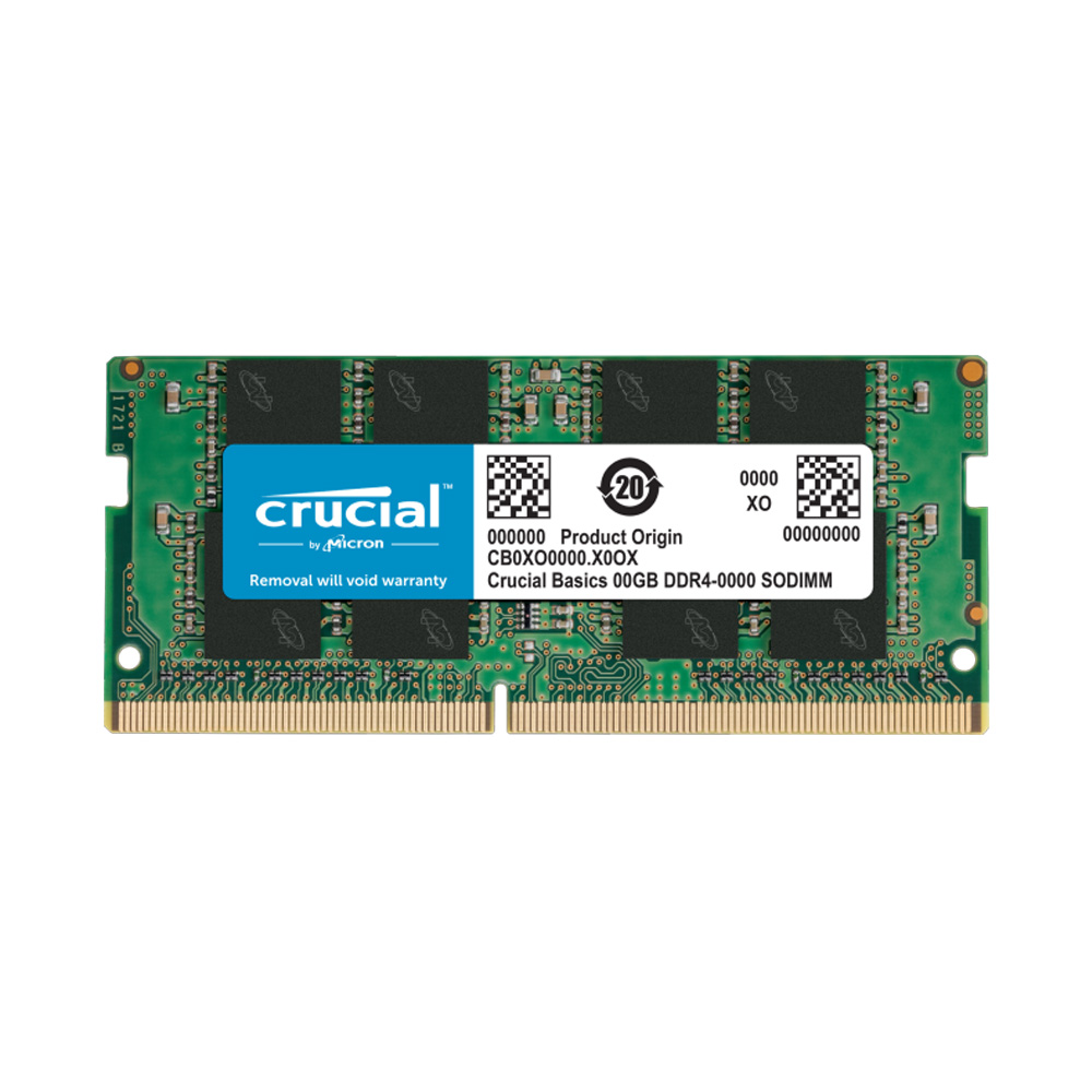 Ram Laptop Crucial Basics DDR4 8GB 2400MHz 1.2v CB8GS2400