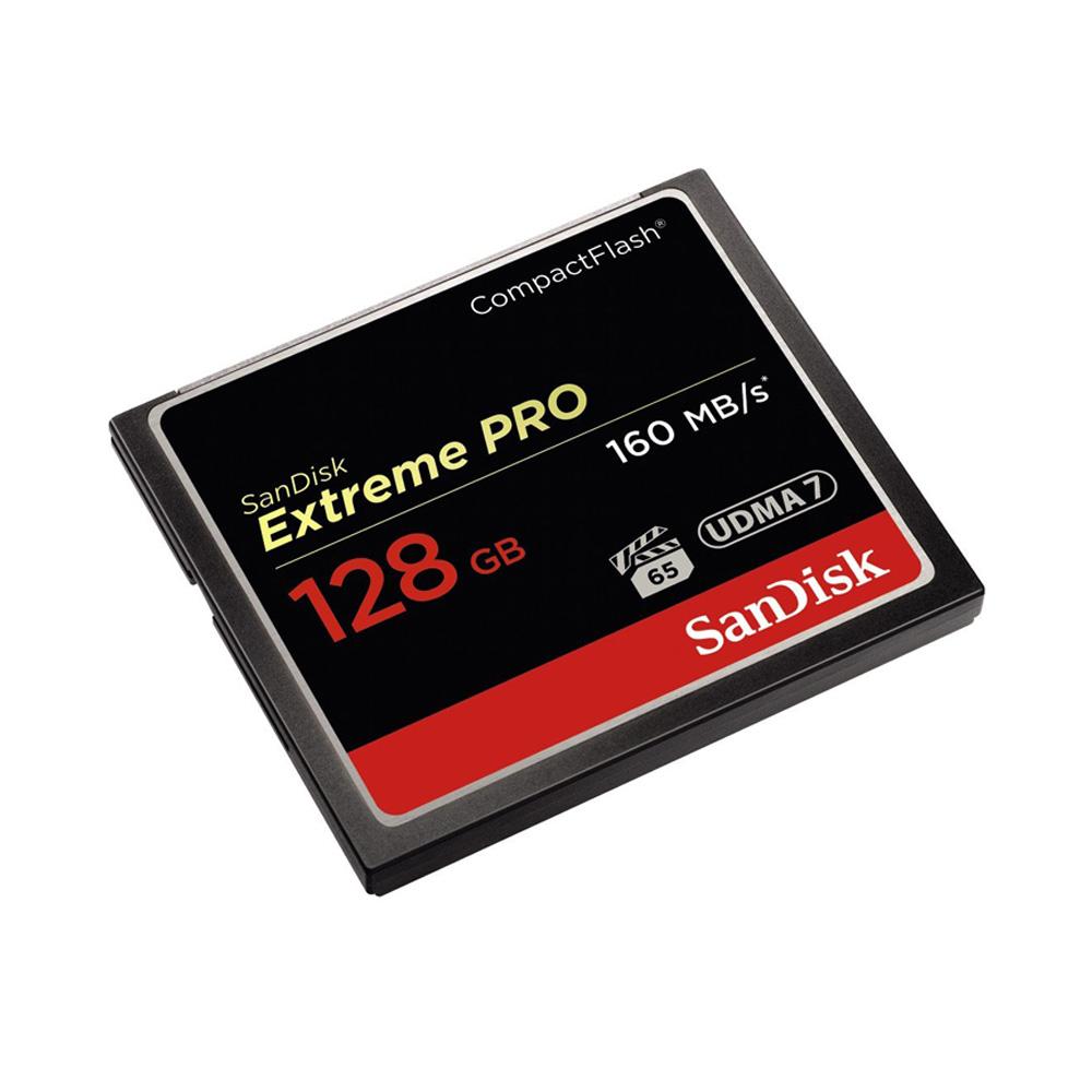 Thẻ Nhớ CompactFlash (CF) SanDisk Extreme Pro 128GB 1067X SDCFXPS-128G-X46