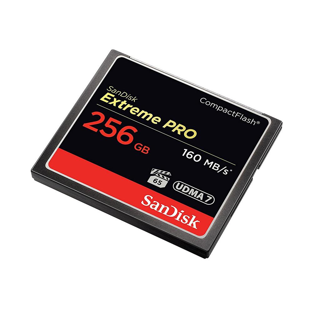 Thẻ nhớ CF SanDisk Extreme Pro 160MB/s 256GB 1067X SDCFXPS-256G-X46