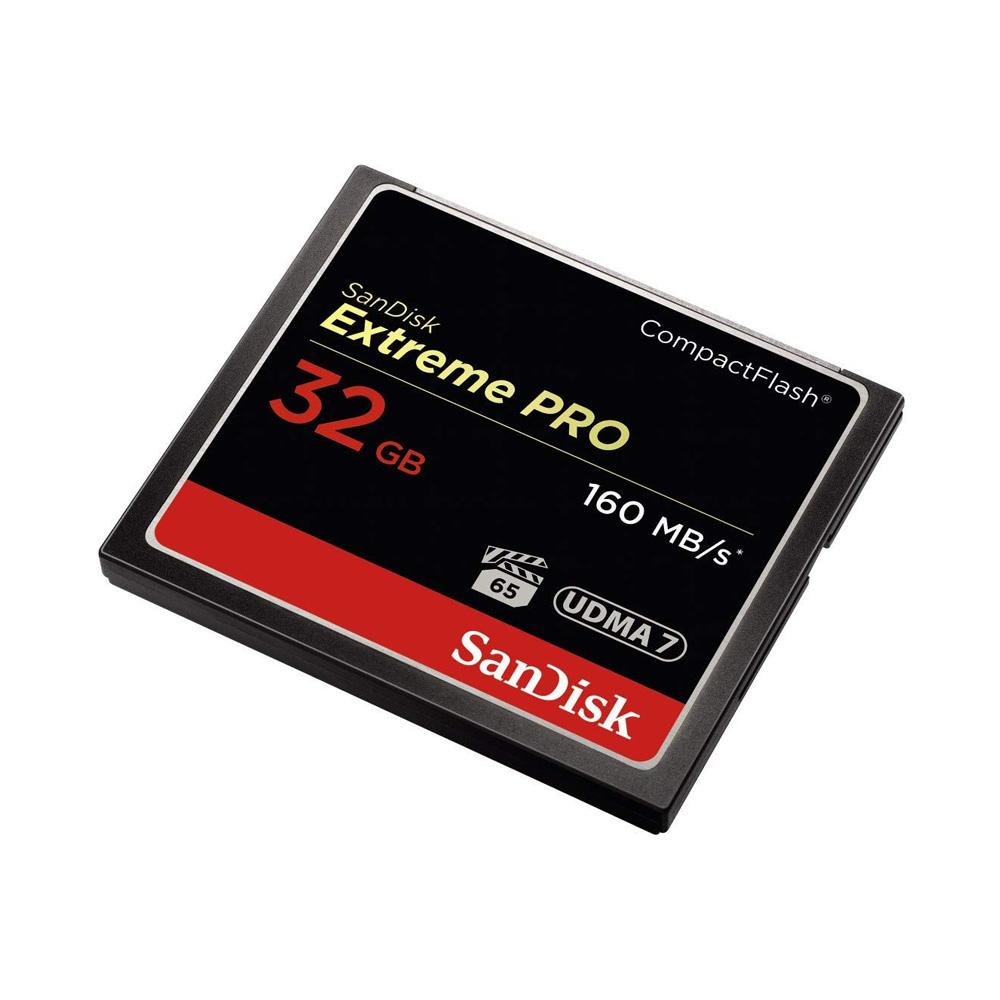 Thẻ Nhớ CompactFlash (CF) SanDisk Extreme Pro 32GB 1067X SDCFXPS-032G-X46