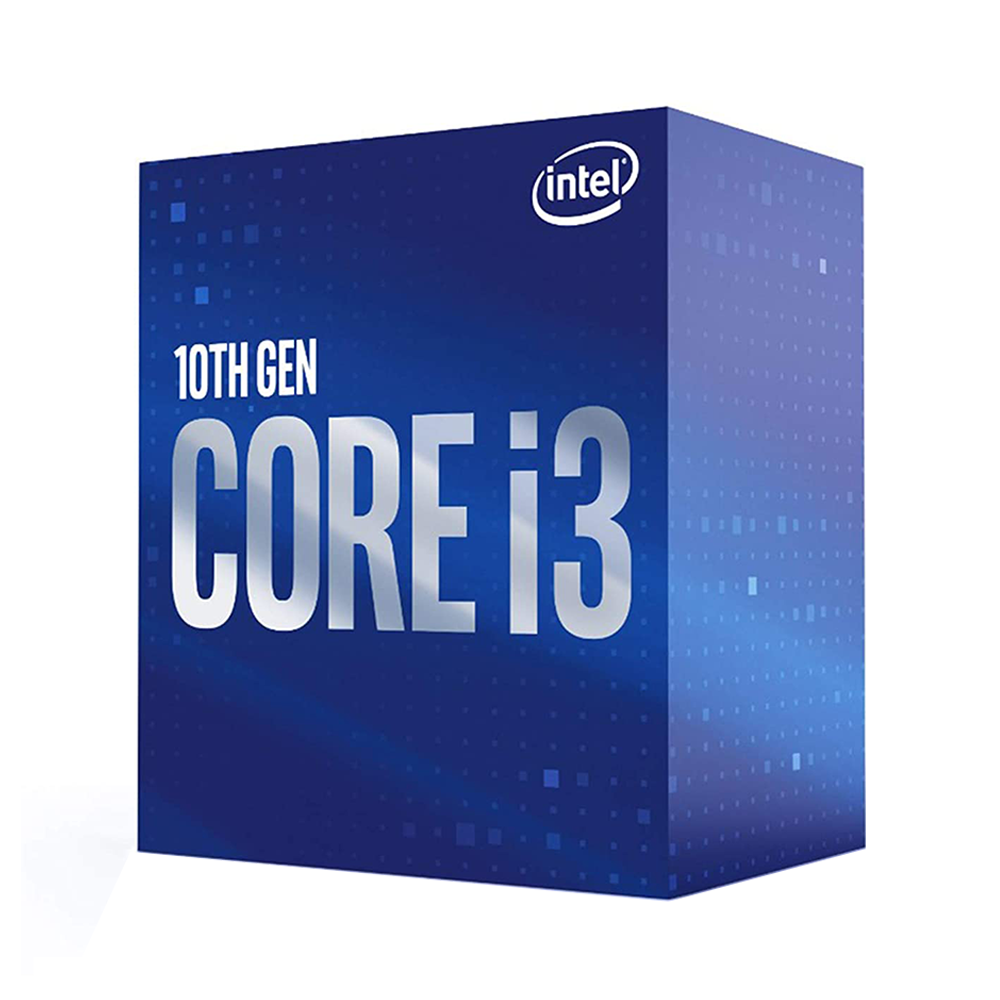 CPU Intel Core i3-10100F 3.6GHz 4 cores 8 threads 6MB