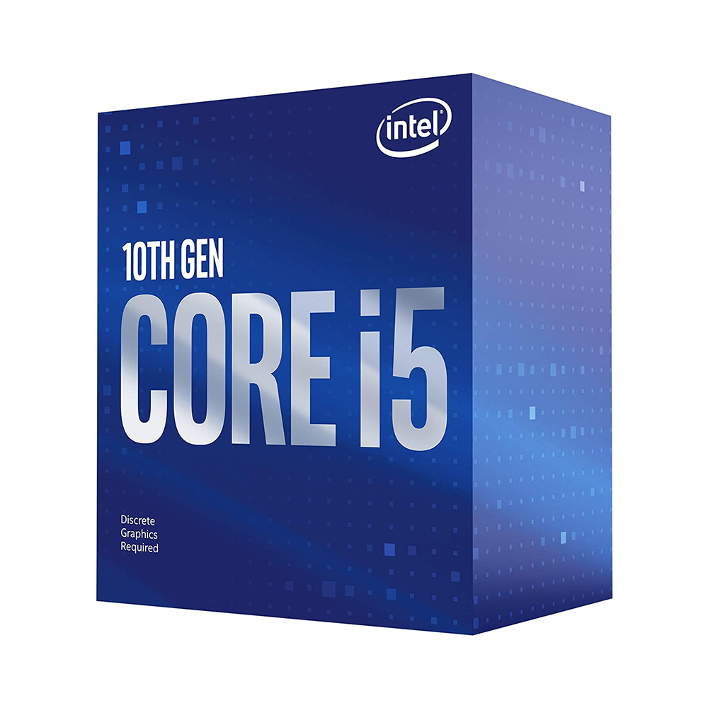 CPU Intel Core i5-10400F 2.9GHz 6 cores 12 threads 12MB