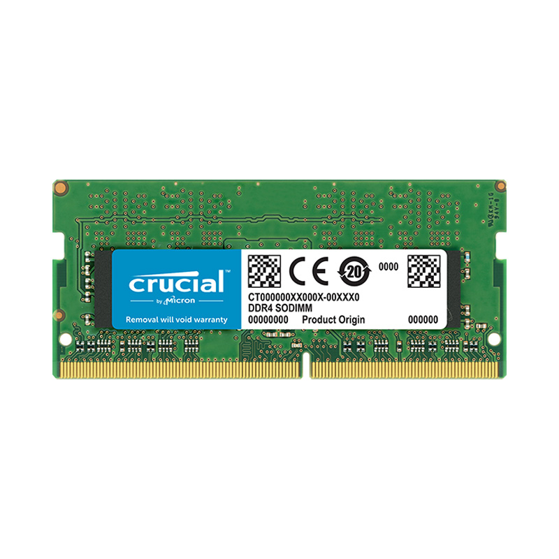 Ram Laptop Crucial DDR4 8GB Bus 2400MHz (CT8G4SFS824A)