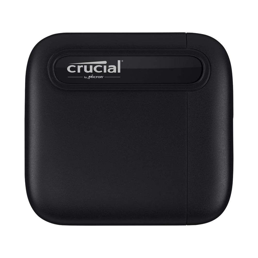 Ổ cứng di động 500GB External SSD Crucial X6 USB 3.2 Gen 2 Type-C CT500X6SSD9