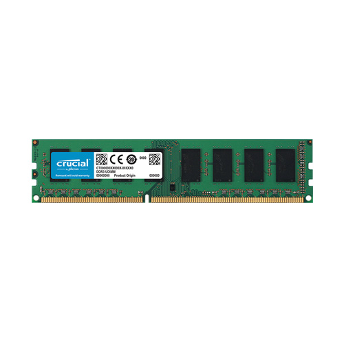 Ram PC Crucial DDR3L 8GB Bus 1600 1.35v ( CT102464BD160B )