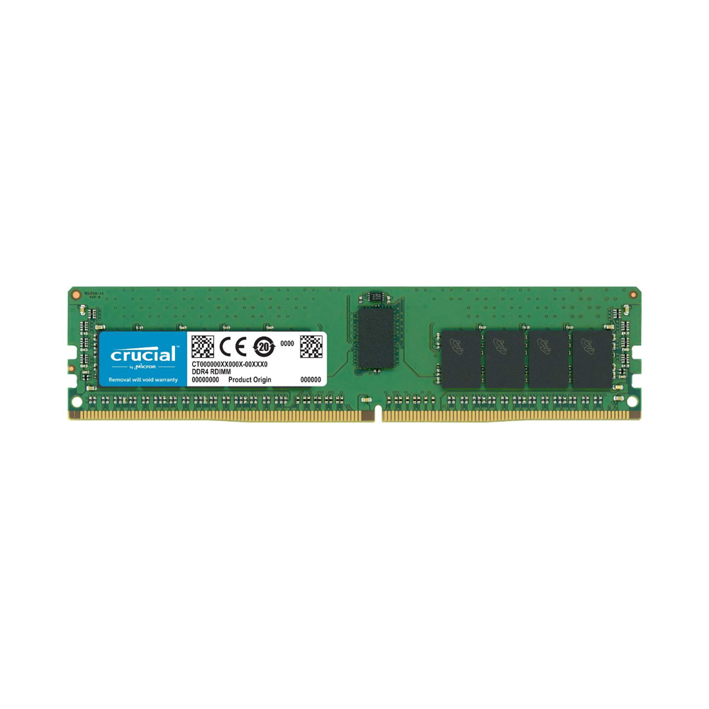 Ram PC Server Crucial 32GB 2666MHz DDR4 ECC RDIMM CT32G4RFD4266