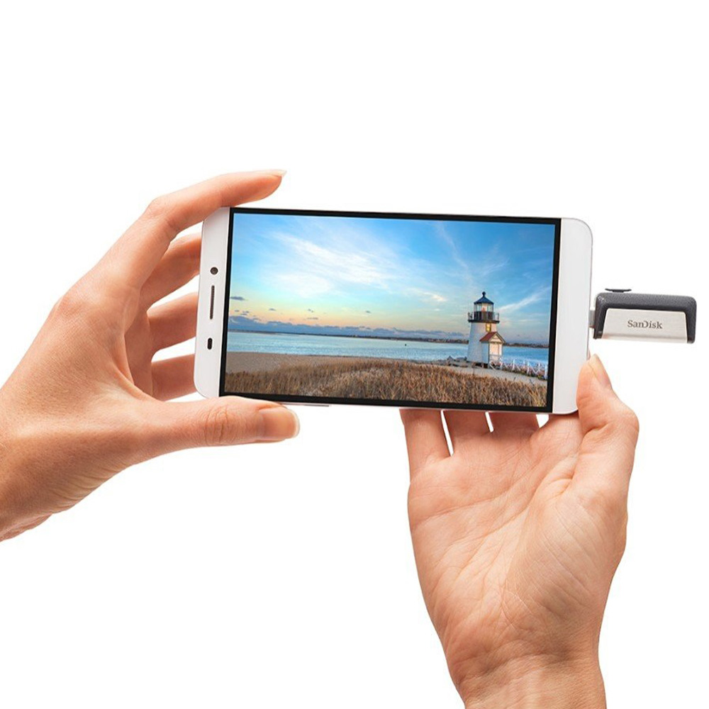 USB Sandisk Ultra Dual OTG Type-C USB 3.1 DDC2 128GB SDDDC2-128G-G46