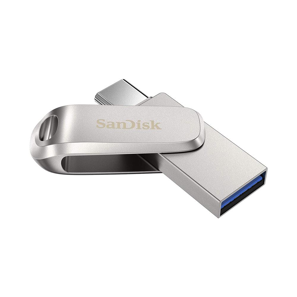 USB 3.1 Sandisk Ultra Dual Drive Luxe OTG Type-C DDC4 64GB OTG SDDDC4-064G-G46
