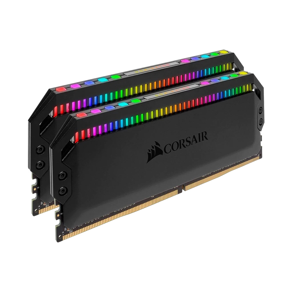 Ram PC Corsair Dominator Platinum RGB DDR4 KIT 16GB (2x8GB) Bus 3000Mhz C15 CMT16GX4M2C3000C15