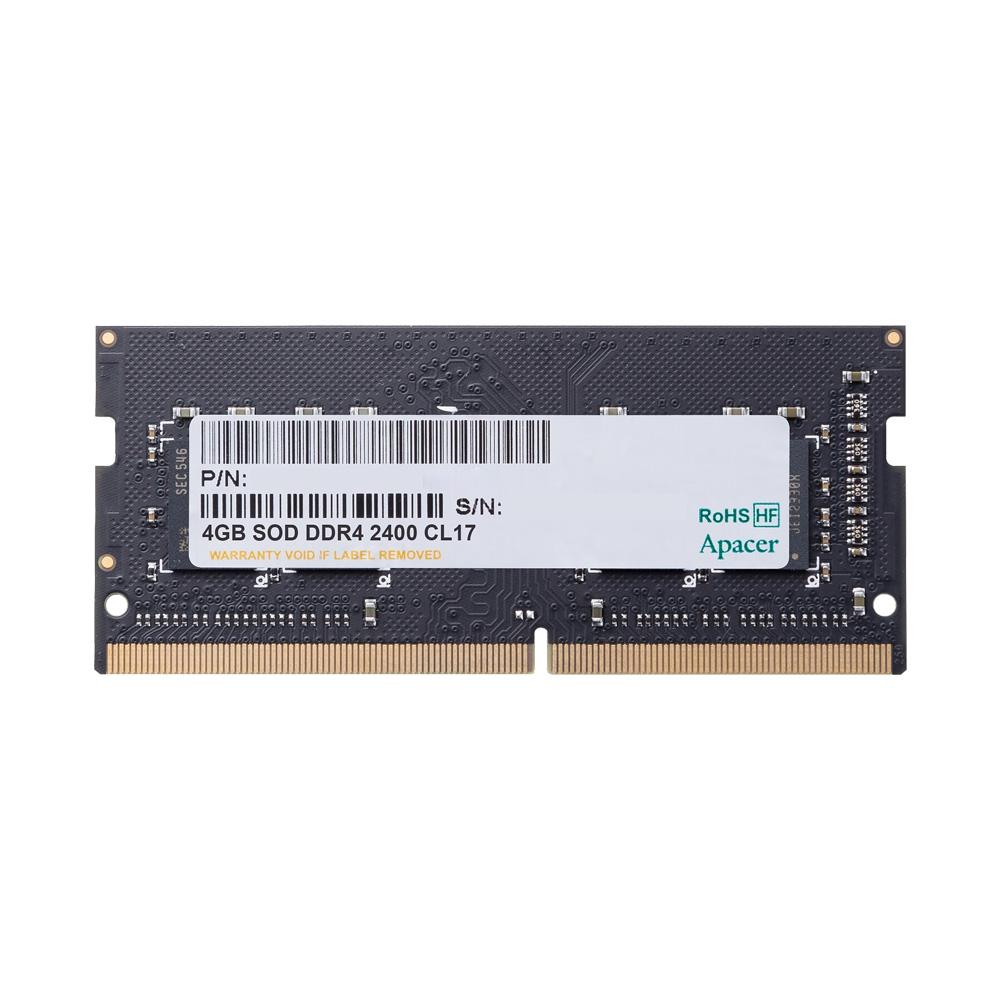 Ram Laptop Apacer DDR4 4GB 2400MHz 1.2v ES.04G2T.LFH