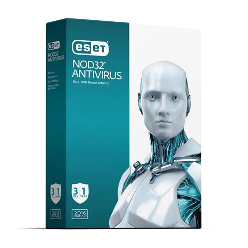 ESET NOD32 Basic Antivirus for Windows - 3 Users