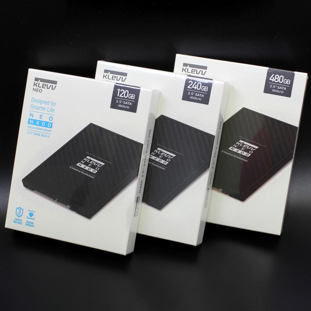 SSD KLEVV Neo N400 120GB 2.5-Inch SATA III 3D-NAND (SK Hynix) K120GSSDS3-N40