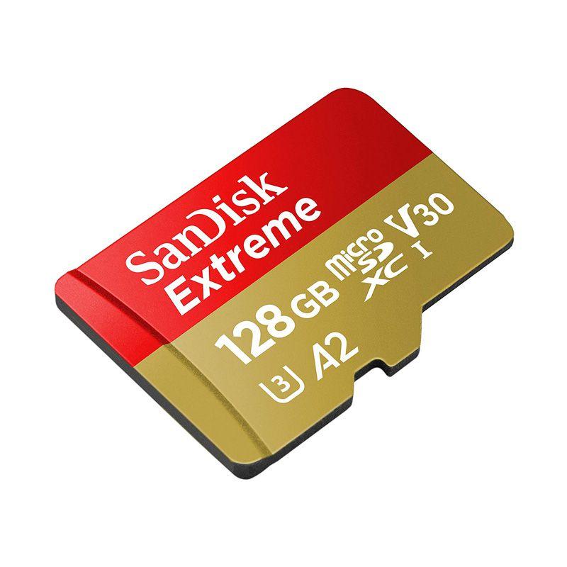 Thẻ Nhớ MicroSDXC SanDisk Extreme V30 A2 128GB 160MB/s SDSQXA1-128G-GN6MA