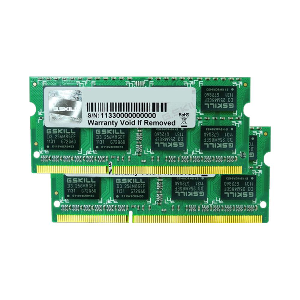 Ram Laptop G.Skill DDR3 4GB 1600MHz 1.5v F3-12800CL9D-4GBSQ