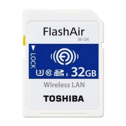 Thẻ Nhớ SDHC Toshiba WiFi FlashAir W-04 U3 32GB