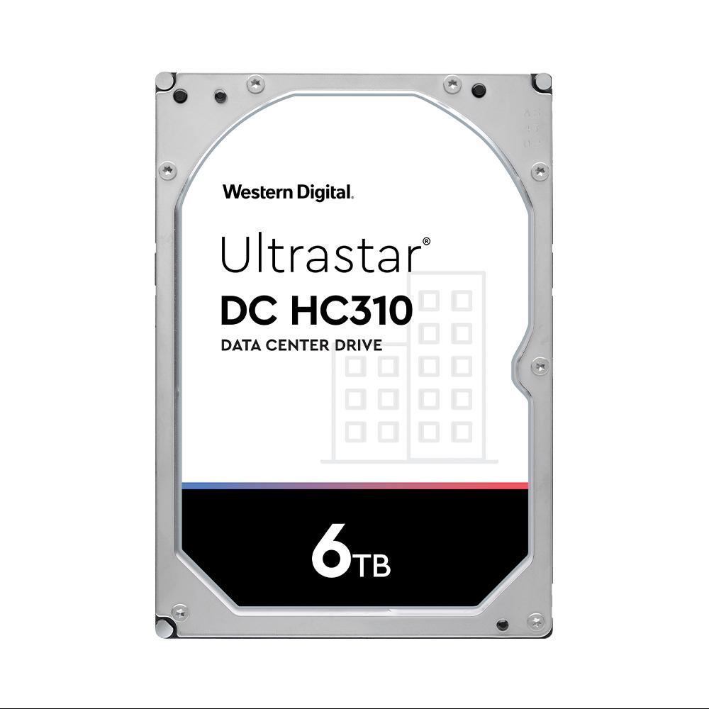HDD WD Ultrastar HC310 6TB 3.5 inch SATA Ultra 512E SE 7K6 256MB Cache 7200RPM HUS726T6TALE6L4
