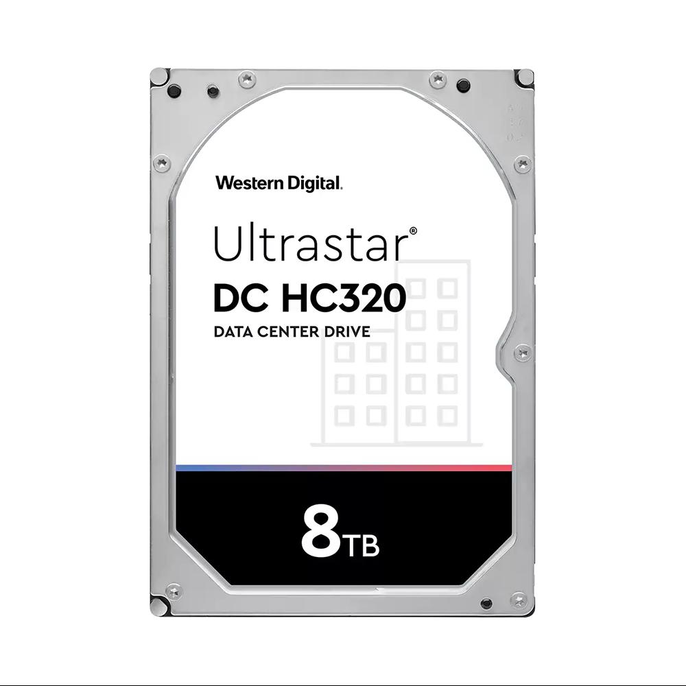 HDD WD Ultrastar HC320 8TB 3.5 inch SATA Ultra 512E SE 7K8 256MB Cache 7200RPM HUS728T8TALE6L4