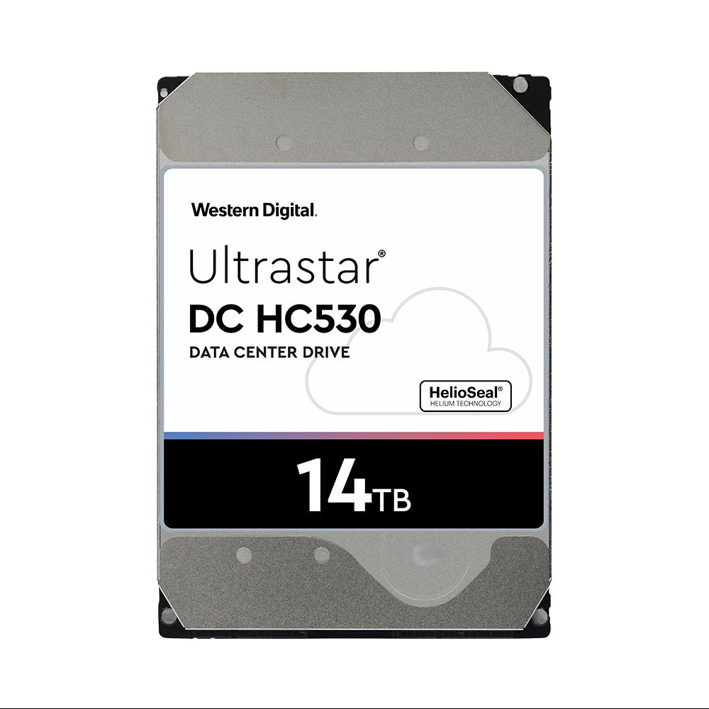 HDD WD Ultrastar HC530 14TB 3.5 inch SATA Ultra 512E SE HE14 512MB Cache 7200RPM WUH721414ALE6L4
