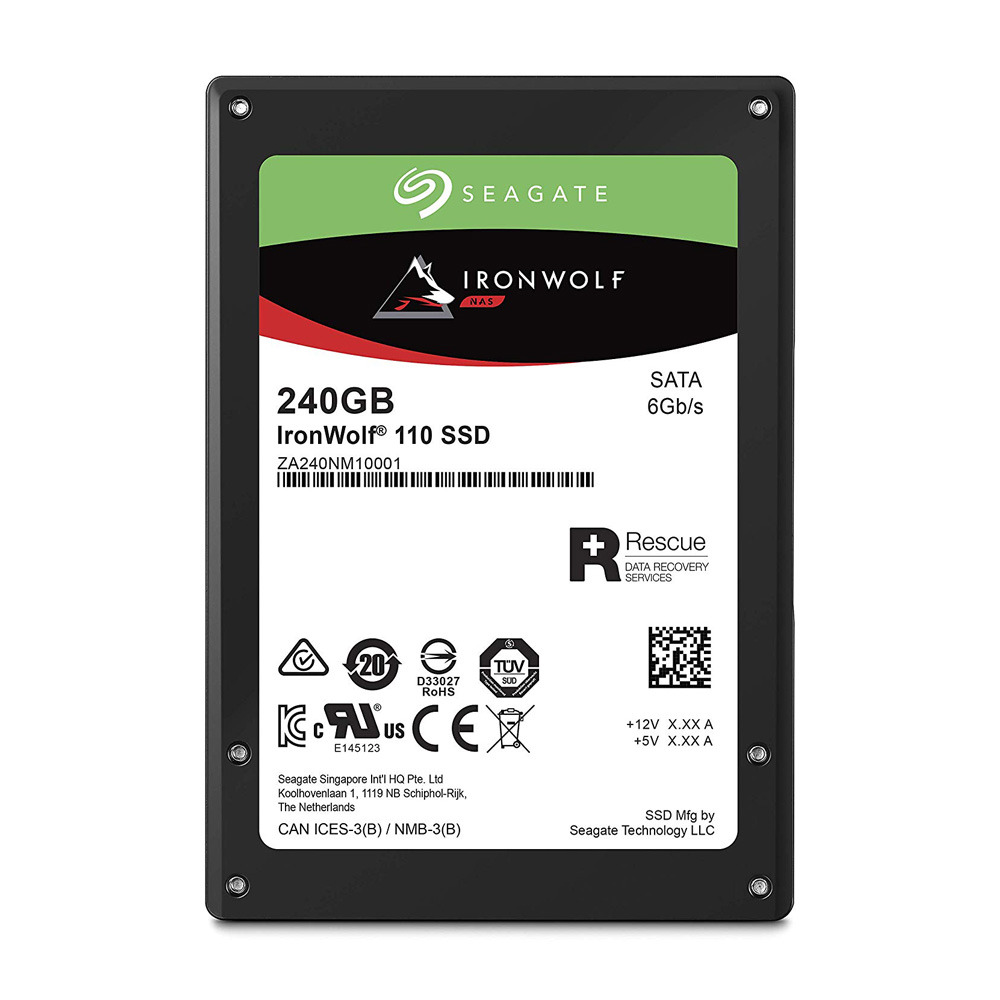 SSD Enterprise Seagate IronWolf 110 2.5 inch 240GB SATA III ZA240NM10001
