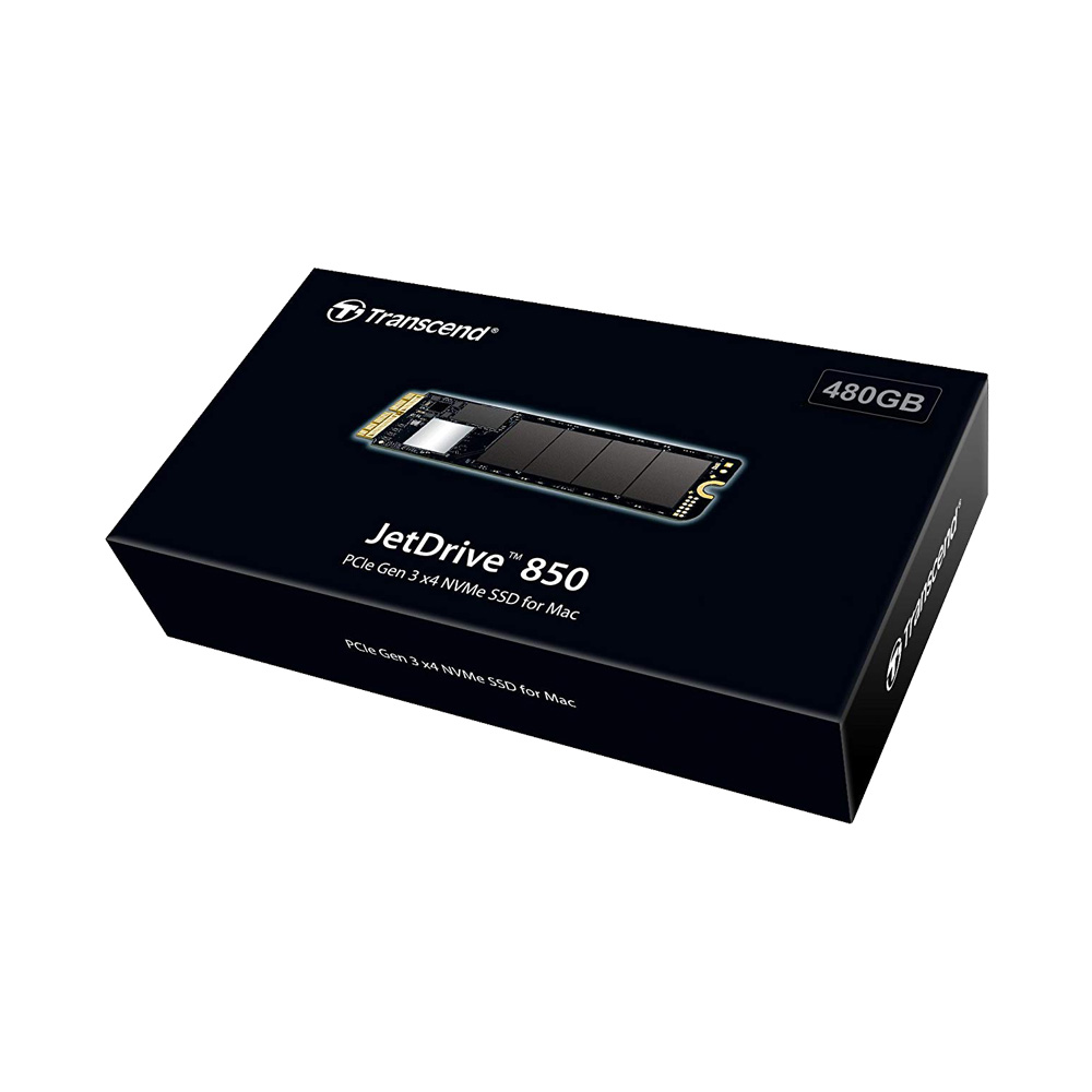 Ổ cứng SSD Transcend JetDrive 850 480GB cho MacBook - Mac Mini - Mac Pro TS480GJDM850